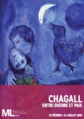 expositions, peinture, marc chagall, musée du luxembourg, paris, actu, actualité
