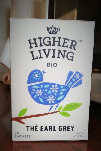 j'ai testé pour vous,shopping,gourmandises,thé,thé earl grey,higher living organic,actu,actualité