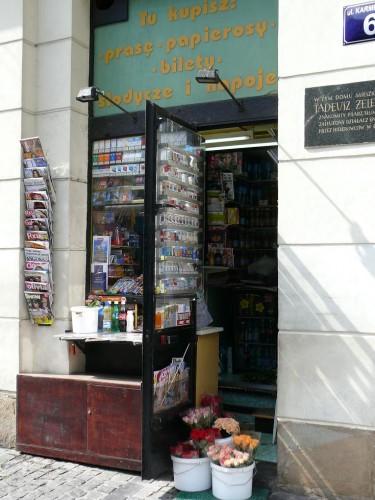 photographies, voyages, pologne, cracovie, kiosk, actu, actualité