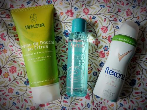 vacances,shopping,beauté,eau micellaire,déodorant,gel douche,actu,actualité