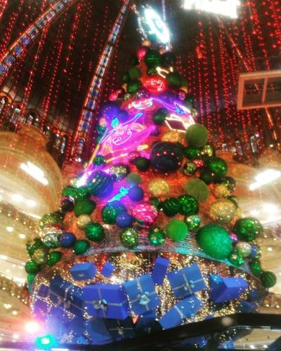 photographies,photos,pictures,paris,galeries lafayette,actu,actualité,christmas tree