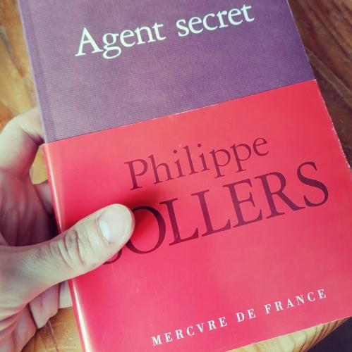 poésie,prose,lecture,littérature,philippe sollers,agent secret,actu,actualité